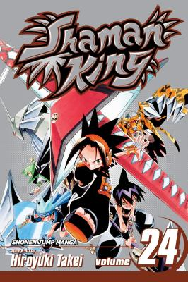 Shaman King, Volume 24 Cover