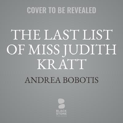 The Last List of Miss Judith Kratt Cover Image