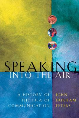 Cover for Speaking into the Air