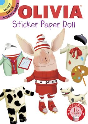 Olivia Sticker Paper Doll (Dover Little Activity Books Stickers) Cover Image