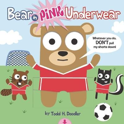 Bear in Pink Underwear Cover