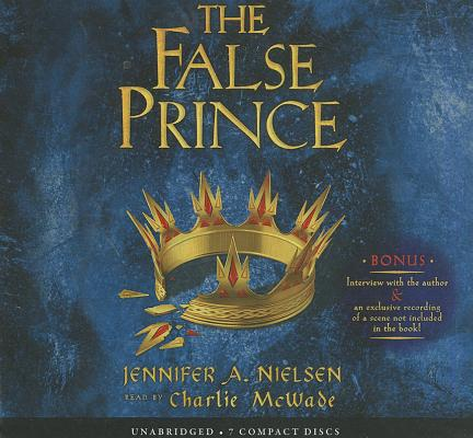 The False Prince (The Ascendance Trilogy, Book 1) (Audio Library Edition): (Book 1 of the Ascendance Trilogy) (The Ascendance Series #1) Cover Image