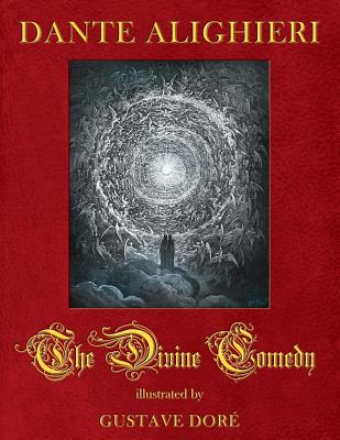 The Divine Comedy illustrated by Gustave Dore Cover Image