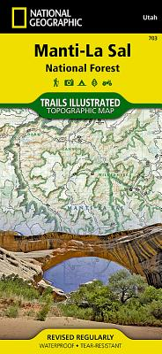 Manti-La Sal National Forest (National Geographic Maps: Trails Illustrated #703) Cover Image