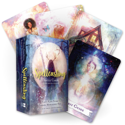 Spellcasting Oracle Cards: A 48-Card Deck and Guidebook Cover Image