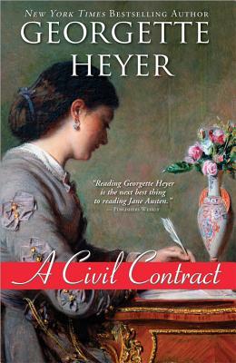 A Civil Contract (Regency Romances #21) Cover Image