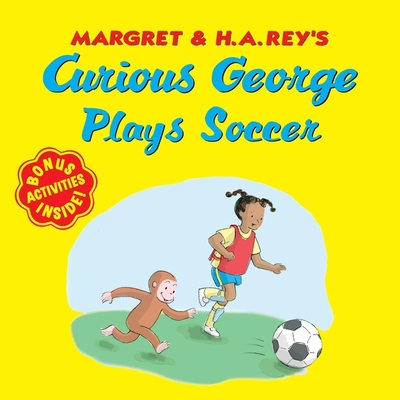 Curious George Plays Soccer Cover Image
