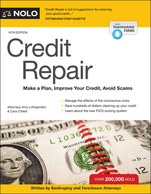 Credit Repair: Make a Plan, Improve Your Credit, Avoid Scams Cover Image