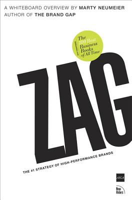 Zag: The #1 Strategy of High-Performance Brands (One-Off) Cover Image