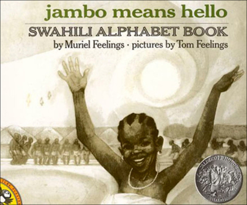 Jambo Means Hello: Swahili Alphabet Book (Puffin Pied Piper) Cover Image