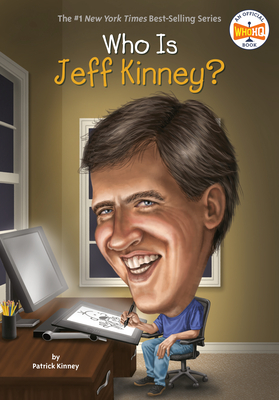 Who Is Jeff Kinney? (Who Was?) Cover Image