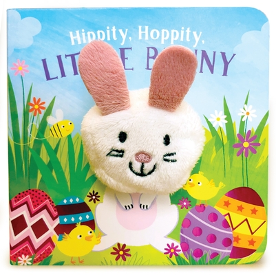 Hippity, Hoppity, Little Bunny (Finger Puppet Book) Cover Image