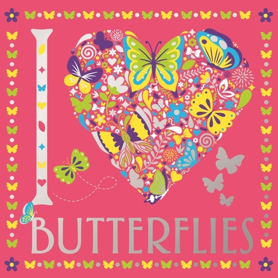 I Heart Butterflies Cover Image