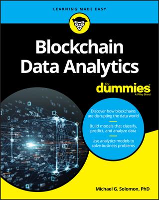 Blockchain Data Analytics for Dummies Cover Image