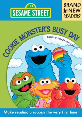 Cookie Monster's Busy Day Cover