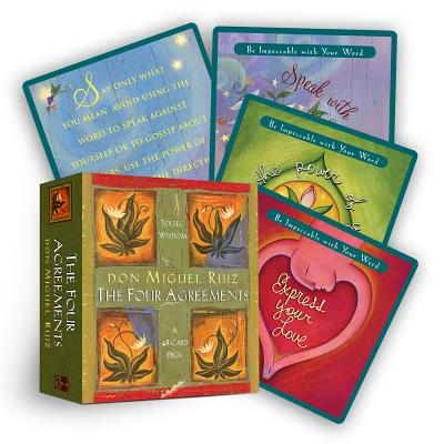 Four Agreements Cards Cover Image