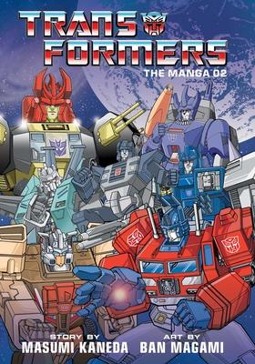 Transformers: The Manga, Vol. 2 Cover Image