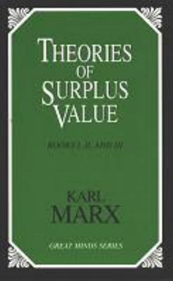 Theories of Surplus Value Cover