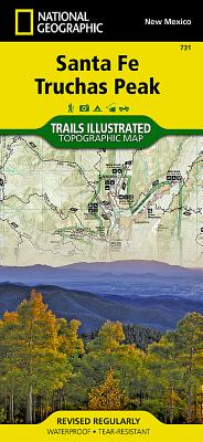 Santa Fe, Truchas Peak (National Geographic Trails Illustrated Map #731) Cover Image