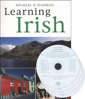Cover for Learning Irish [With CD (Audio)]