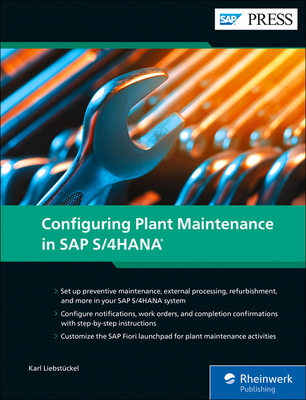 Configuring Plant Maintenance in SAP S/4hana Cover Image