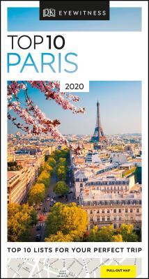 DK Eyewitness Top 10 Paris (Pocket Travel Guide) Cover Image
