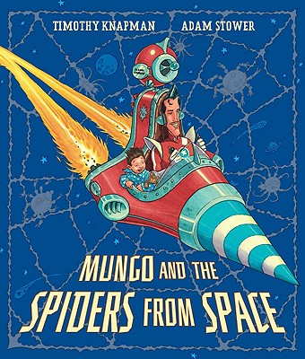 Cover for Mungo and the Spiders from Space