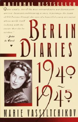 Berlin Diaries, 1940-1945 Cover