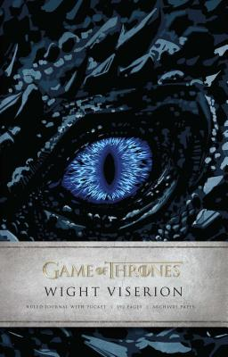 Game of Thrones: Wight Viserion Hardcover Ruled Journal Cover Image