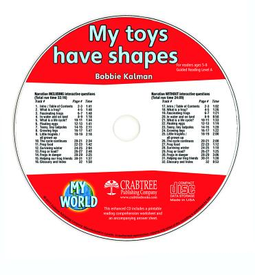My Toys Have Shapes - CD Only (My World) Cover Image