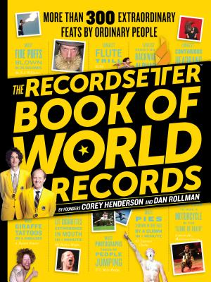 The Recordsetter Book of World Records Cover