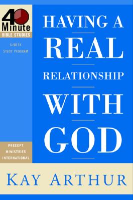 Having a Real Relationship with God Cover