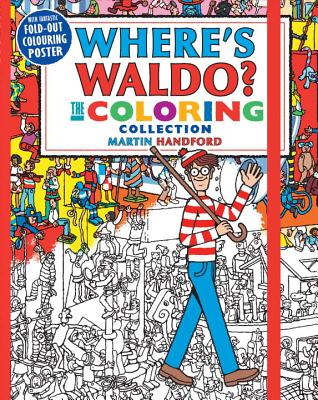 Where's Waldo? The Coloring Collection Cover Image