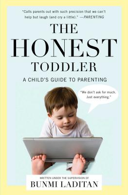 The Honest Toddler Cover