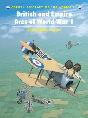 British and Empire Aces of World War 1 Cover