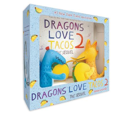 Dragons Love Tacos 2 Book and Toy Set Cover Image