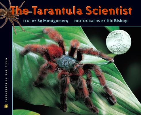 The Tarantula Scientist Cover
