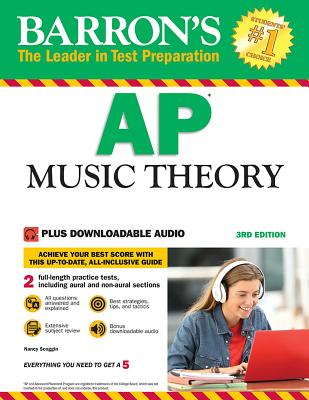 AP Music Theory: with Downloadable Audio Files Cover Image
