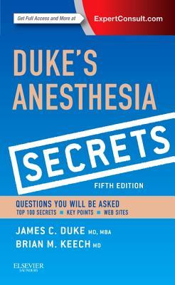 Duke's Anesthesia Secrets Cover Image