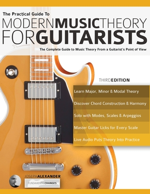 The Practical Guide to Modern Music Theory for Guitarists Cover Image