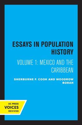 Cover for Essays in Population History, Volume One