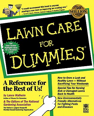 Lawn Care For Dummies Cover Image