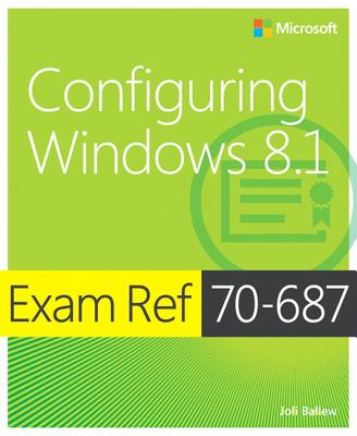 Exam Ref 70-687 Cover