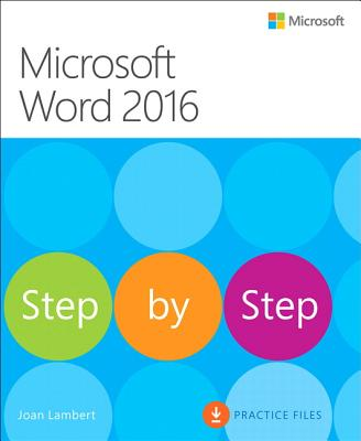 Microsoft Word 2016 Step by Step Cover Image