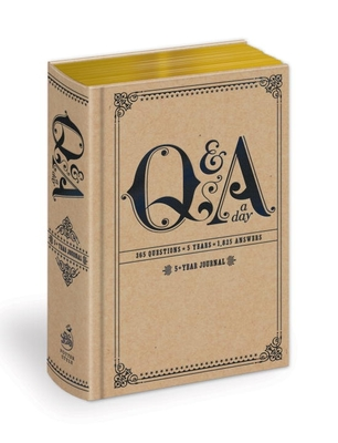 Q and A a Day: 5-Year Journal Cover Image