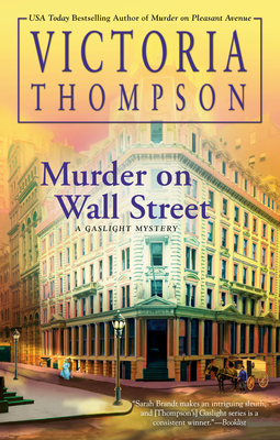 Murder on Wall Street (A Gaslight Mystery #24) Cover Image