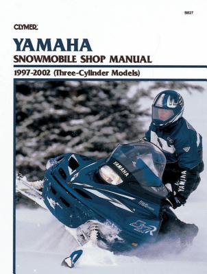Yamaha Snowmobile Shop Manual 1997-2002 (Three-Cylinder Models) Cover Image