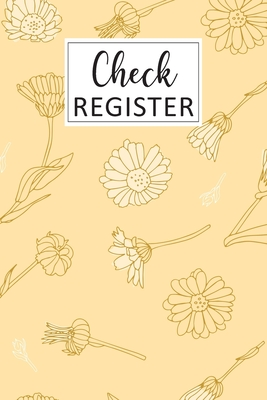 Check Register: Simple Check Register Checkbook Registers Check and Debit Card Register 6 Column Payment Record Personal Checkbook Che Cover Image
