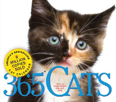 365 Cats Page-A-Day Calendar 2008 Cover Image