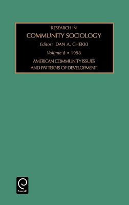 American Community Issues and Patterns of Development (Research in Community Sociology #8) Cover Image